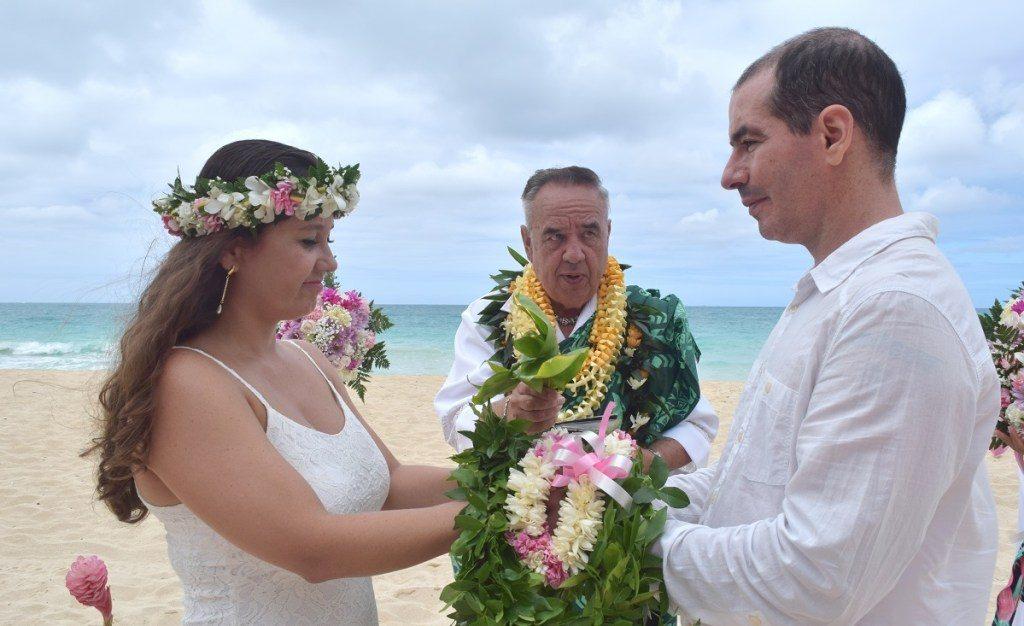 destination wedding no havai